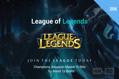 League of Legends 20 EUR