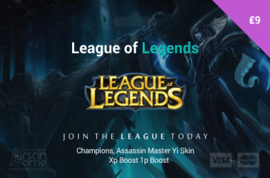 League of Legends 9£ UK