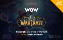 World of Warcraft - 30 days Time Card Prepaid EU