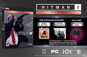 HITMAN 2 - Gold Edition Steam CD Key
