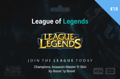 League of Legends 18£ UK