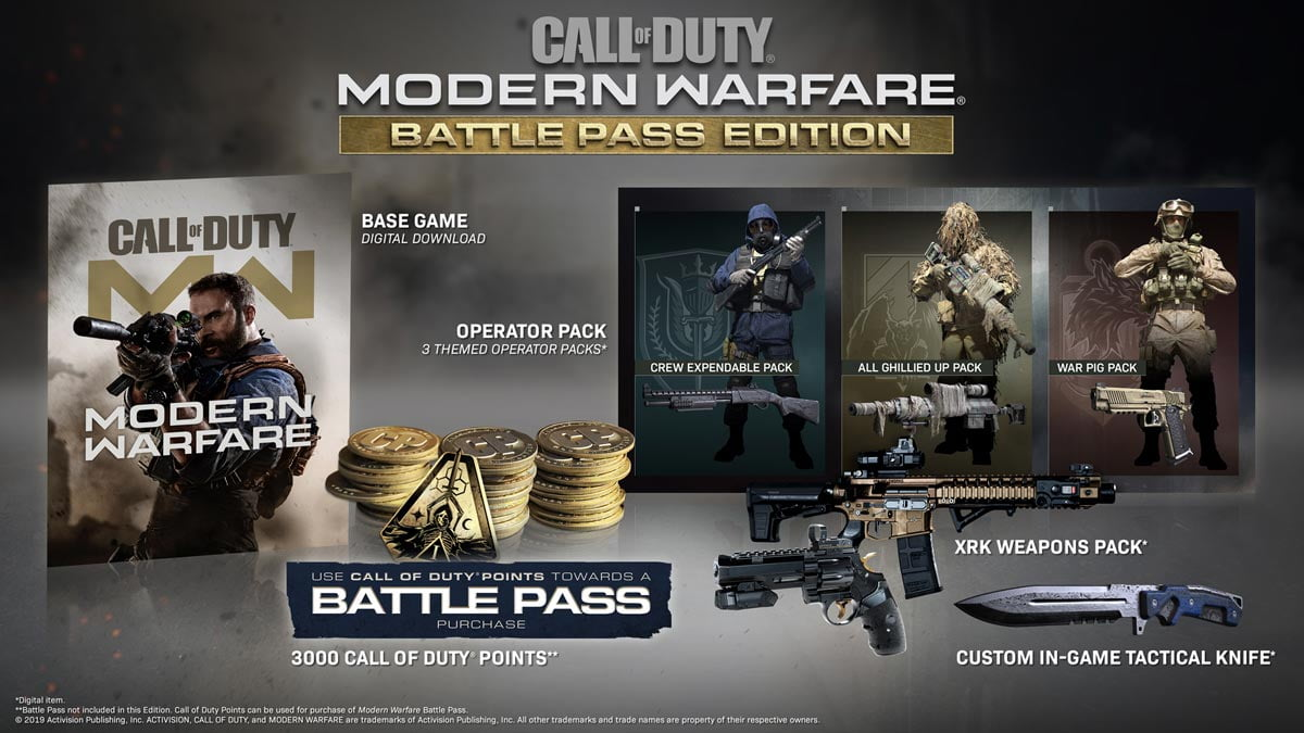 Call of Duty: Modern Warfare Battle Pass