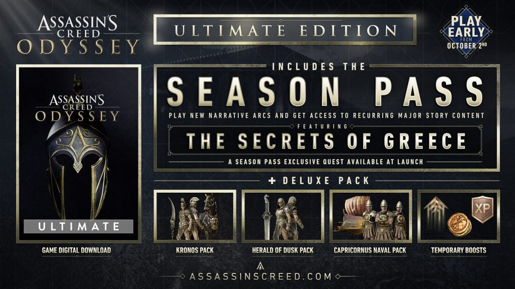 Assassin's Creed Odyssey Ultimate Uplay CD Key
