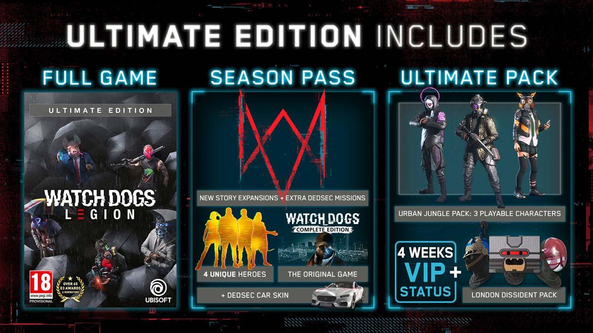 Watch Dogs: Legion Ultimate