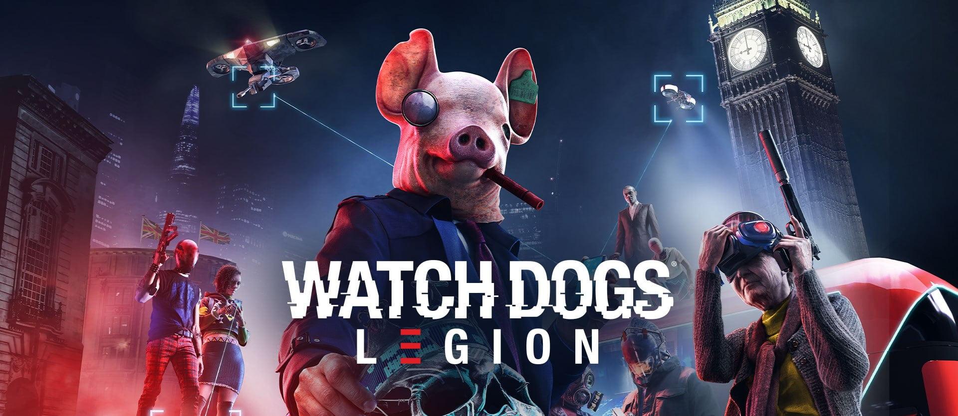 Watch dogs Legion EU Uplay CD Key