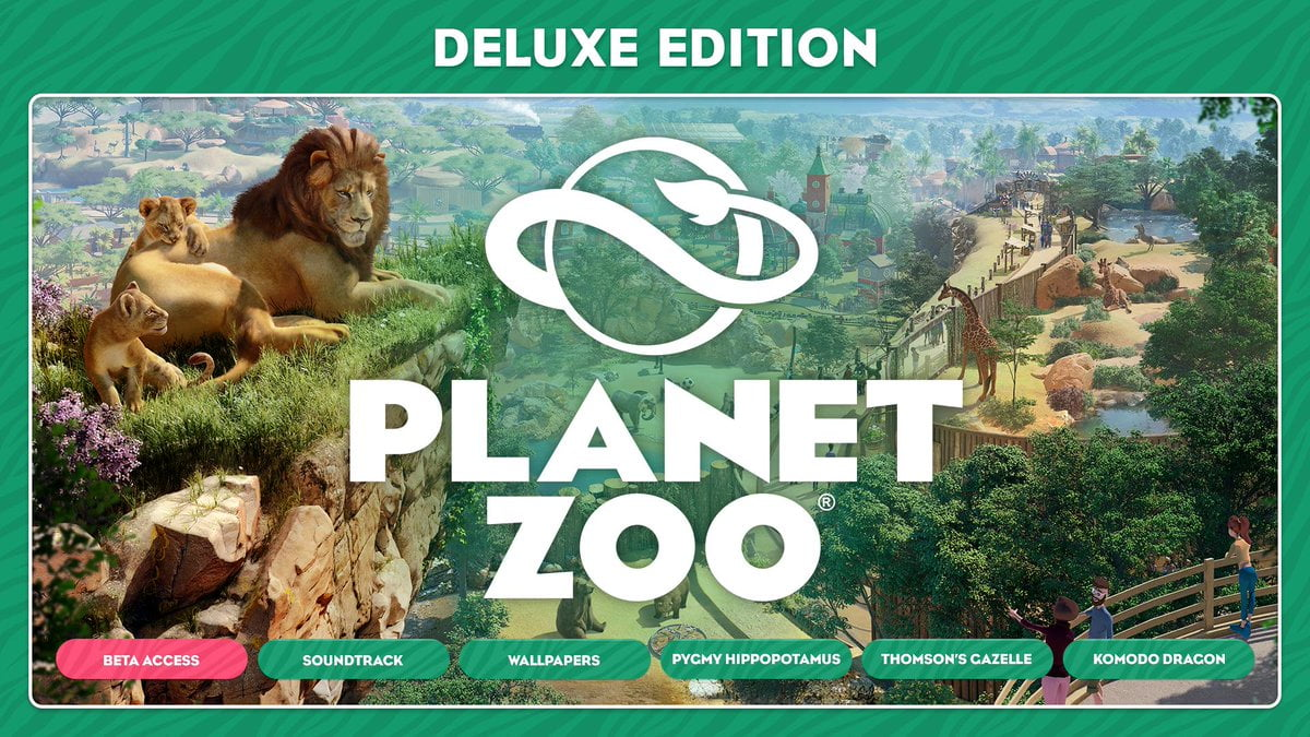 Planet Zoo Deluxe Edition Steam Gift