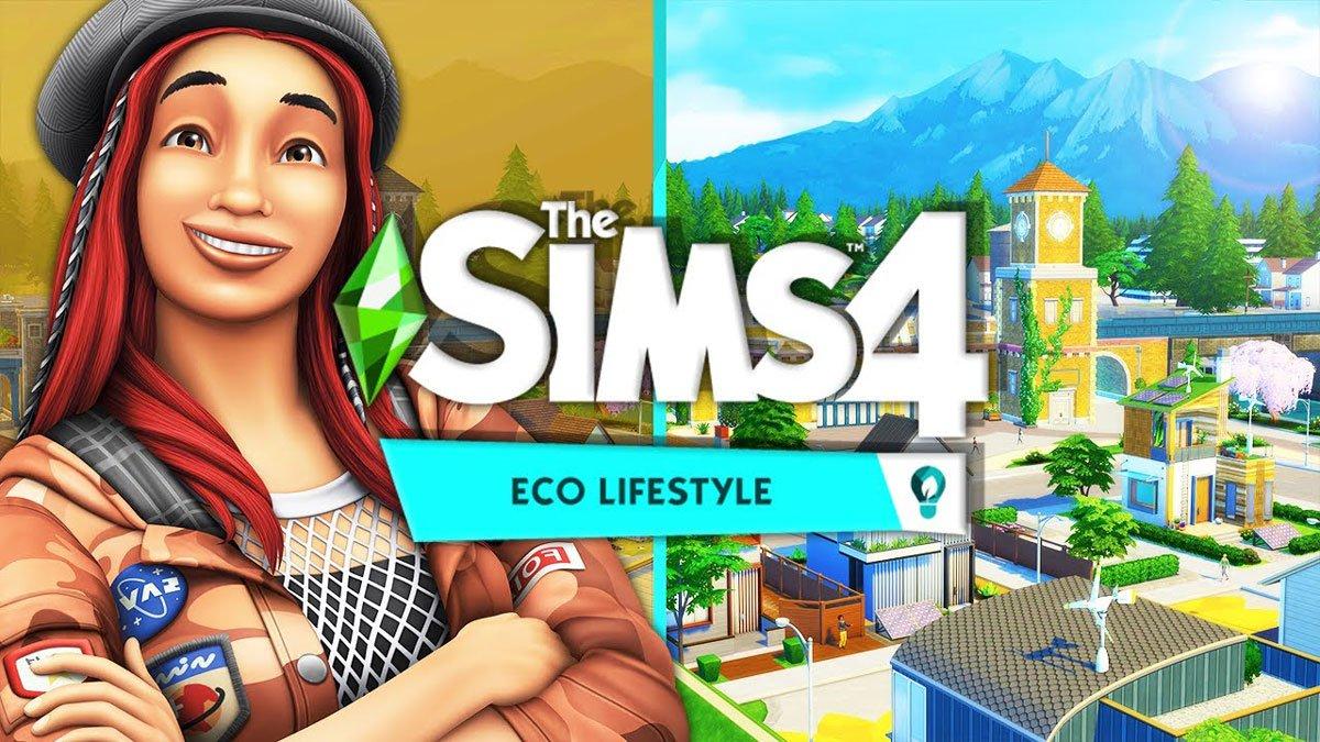 The Sims 4 ECO LIFESTYLE Origin CD Key