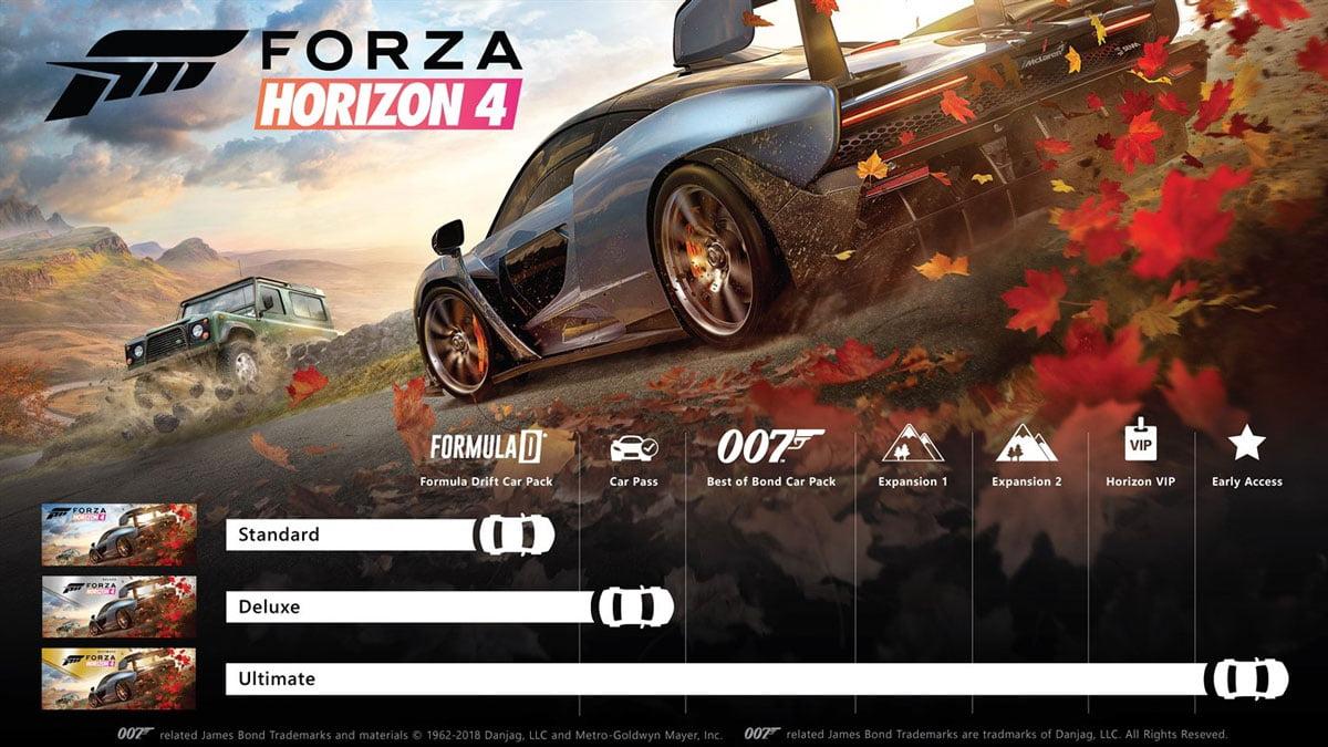 Forza Horizon 4 Ultimate Win10 CD Key