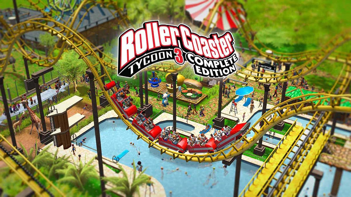 RollerCoaster Tycoon 3 Complete AR Steam Gift