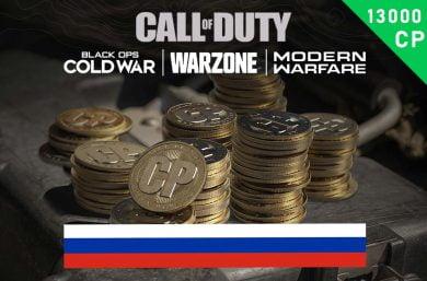 Modern Warzone Points RU 10,000 (+3,000 Bonus) CP