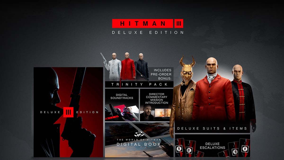 HITMAN 3 - Deluxe Edition Epic Games RU Direct