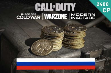 Warzone Points RU 2,000 (+400 Bonus) CP