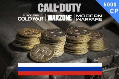 Warzone Points RU 4,000 (+100 Bonus) CP Battle.net Direct