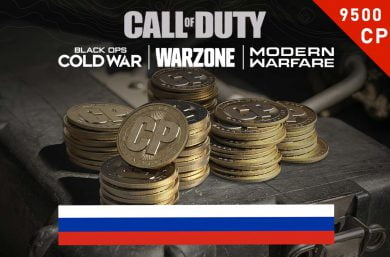 Warzone Points RU 7,000 (+2,500 Bonus) CP