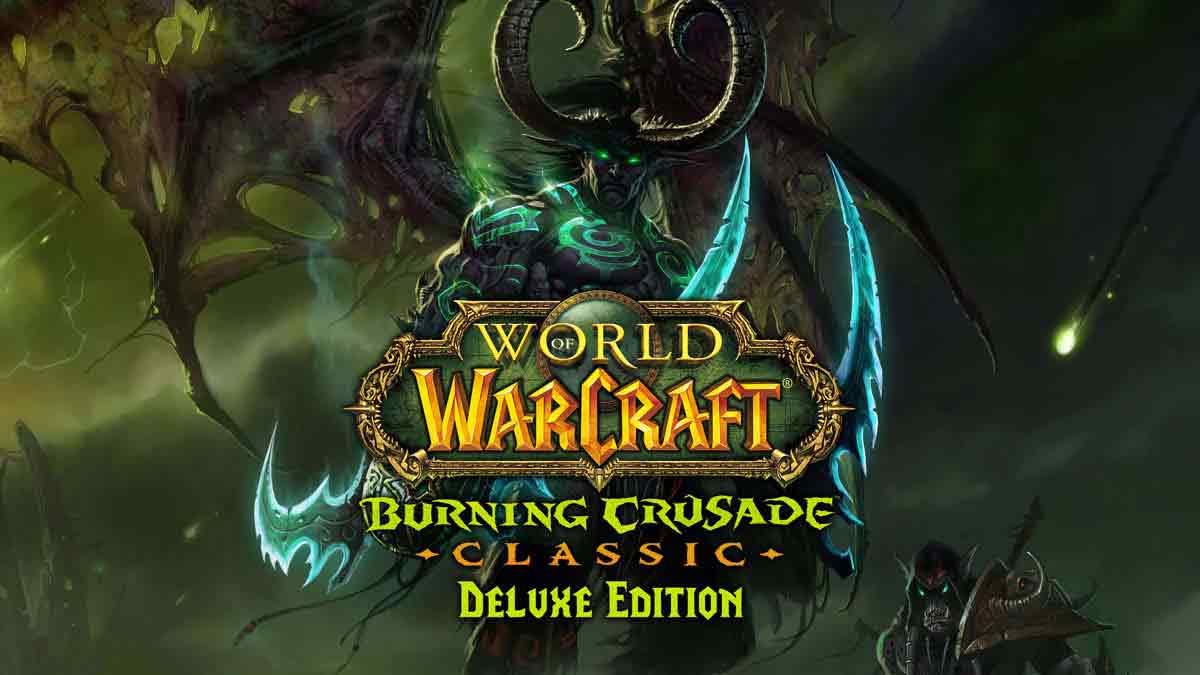 World of Warcraft: Burning Crusade Classic Deluxe Edition EU Battle.net CD Key