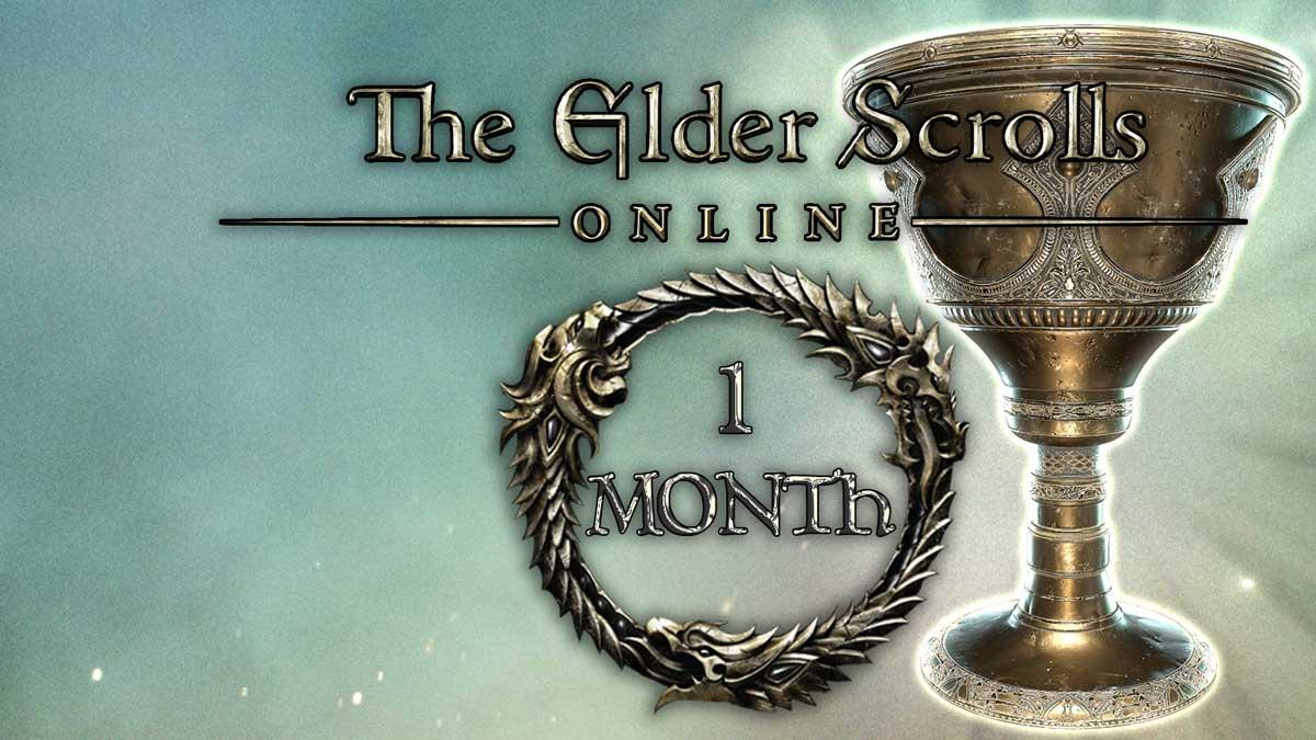 ESO Plus 1 Month Membership AR Steam Gift